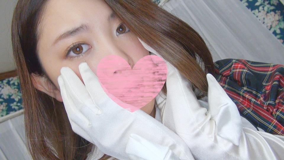 女氏大生 Nちゃん Lカップ サテン手袋 マンコいじくりオナニー映像